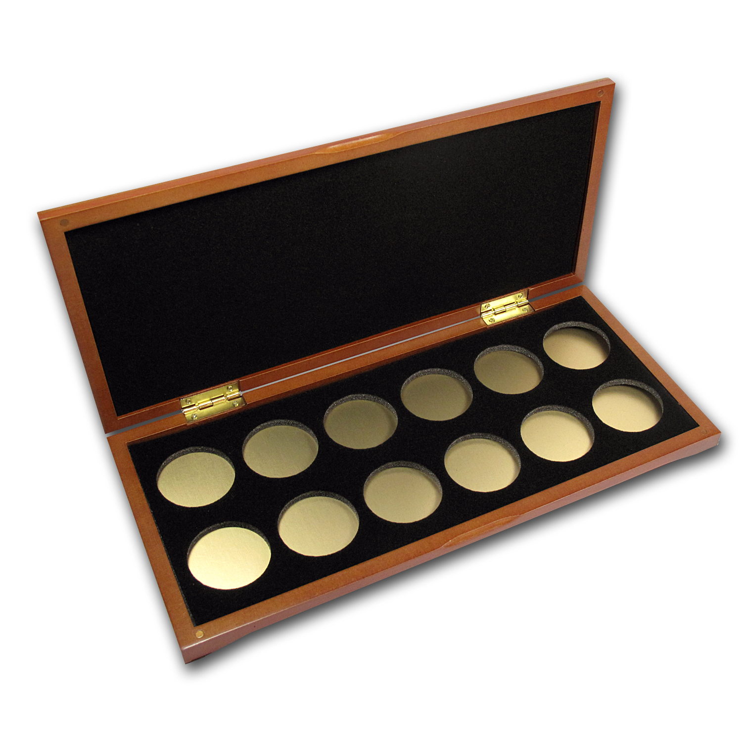 Lunar Series Ii 1 Oz Gold Wood Presentation Box