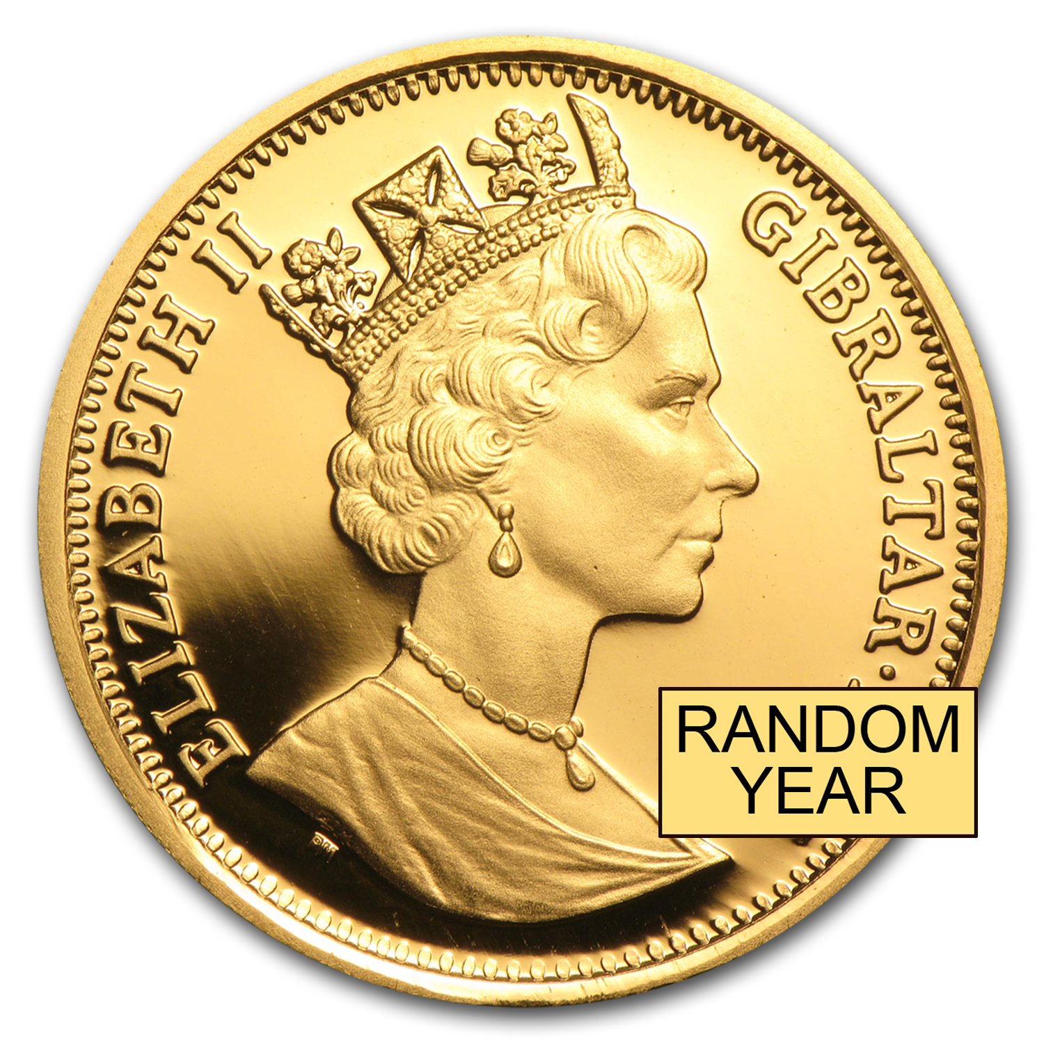 Gibraltar Gold 1/2 oz Royal Dog BU/Proof (Random)