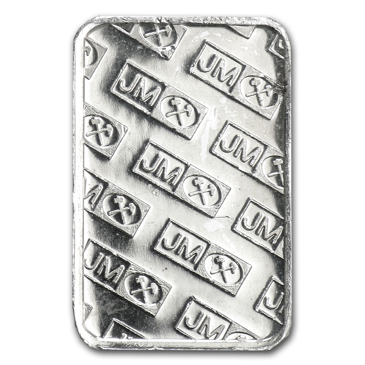 1 gram Silver Bar - Johnson Matthey