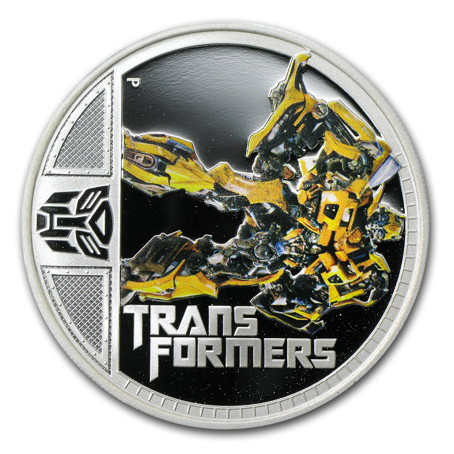 2011 1 oz Silver 2nd Transformers Series Proof (Bumble Bee)
