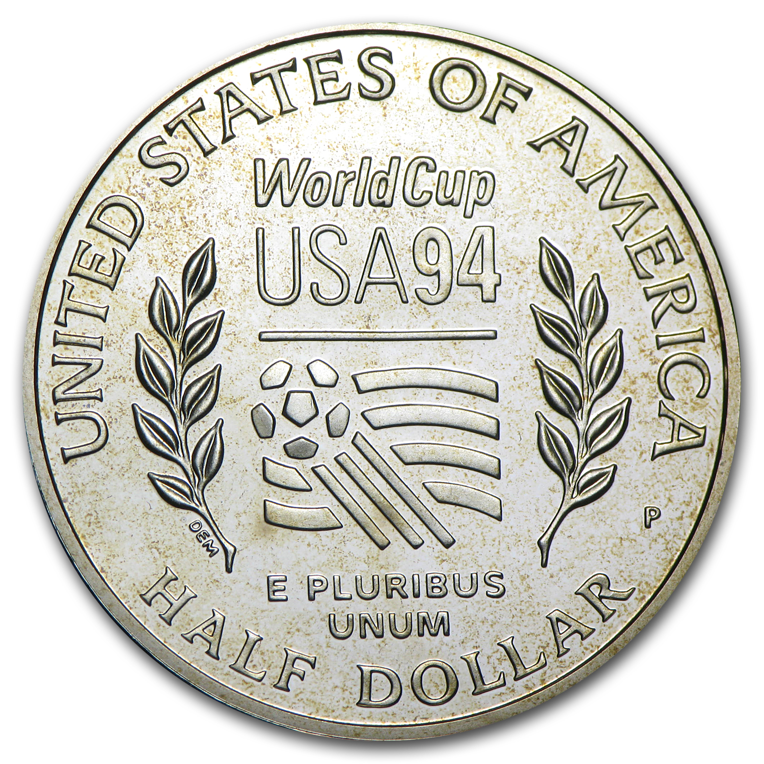 1994-P World Cup 1/2 Dollar Clad Commem Proof (Capsule Only)