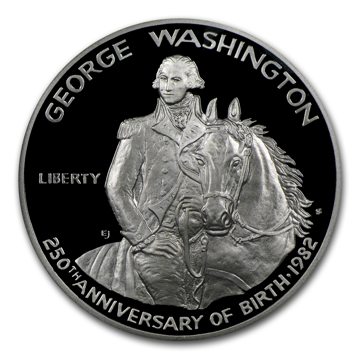 1982-S George Washington 1/2 Dollar Silver Commem PR-70 PCGS