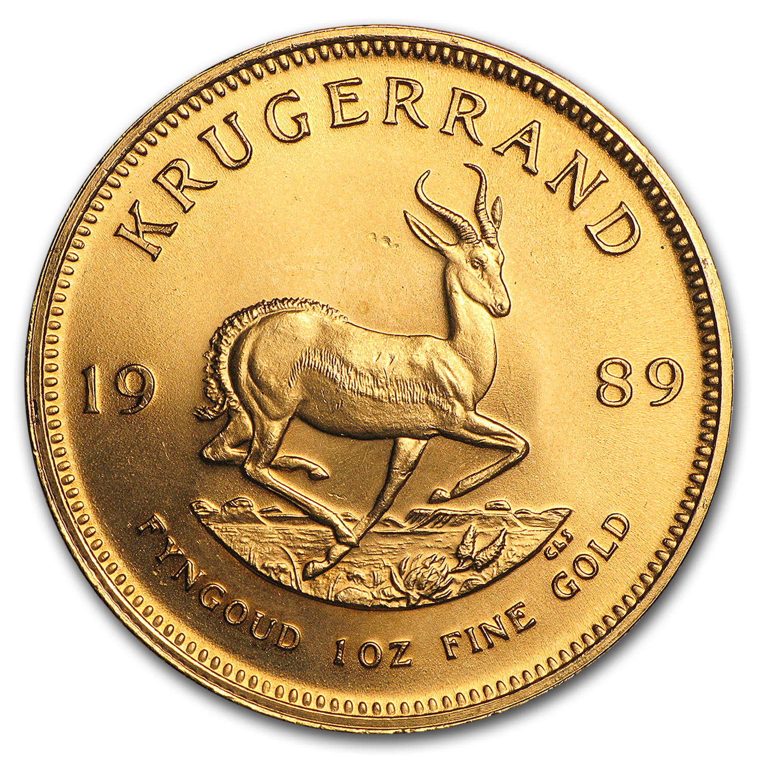 1989 South Africa 1 oz Gold Krugerrand
