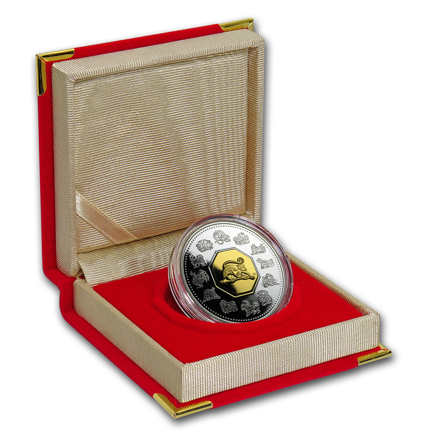 2004 Canada 1 oz Silver Year of the Monkey Proof (w/Box & COA)