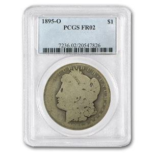 1895-O Morgan Dollar Fair-2 PCGS Low Ball Registry Coin