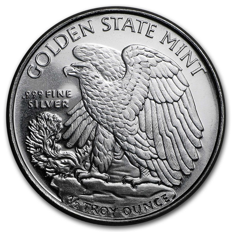 1 2 Oz Silver Round Walking Liberty Silver Coins And Bars