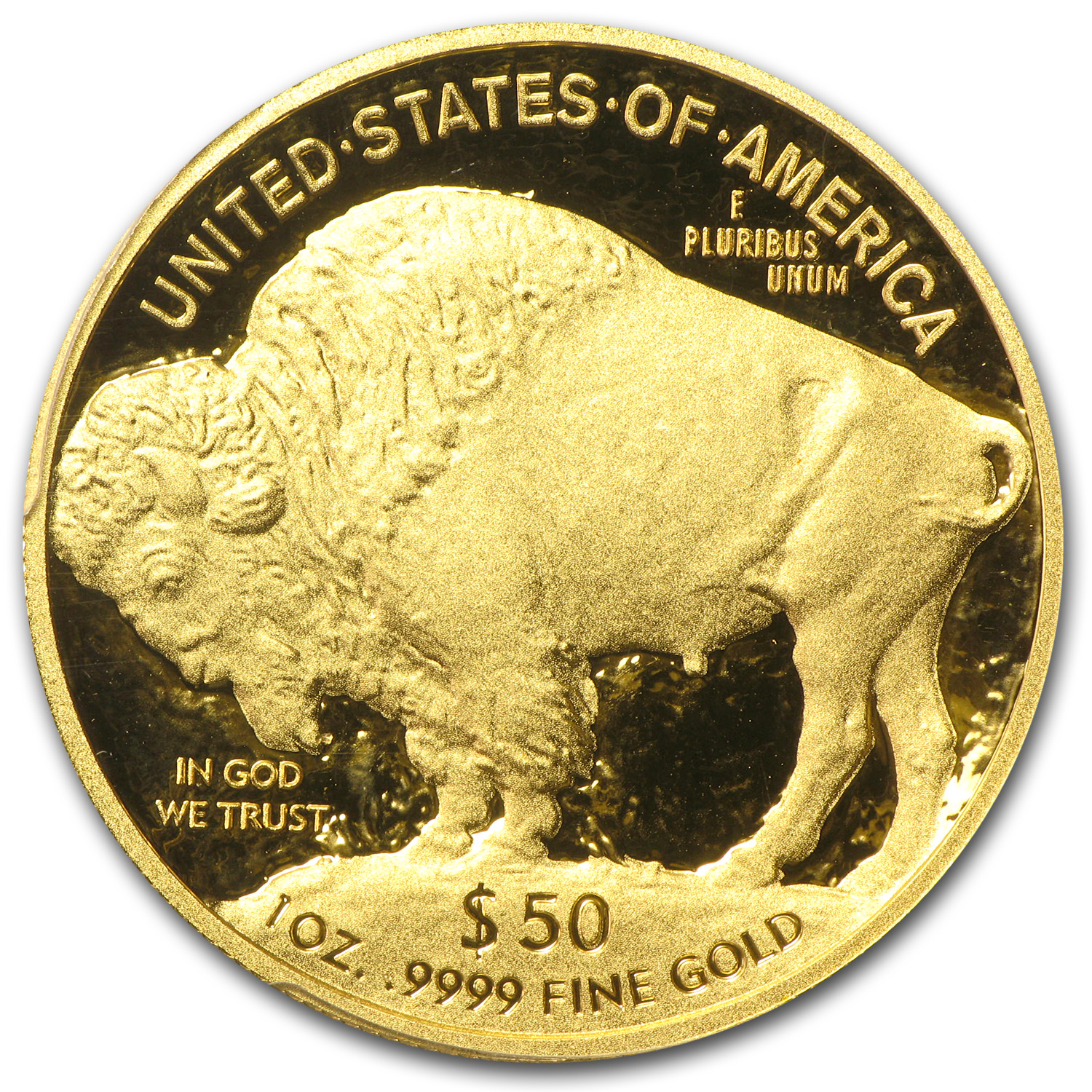 2011-W 1 oz Proof Gold Buffalo PR-70 DCAM PCGS (Black Diamond)