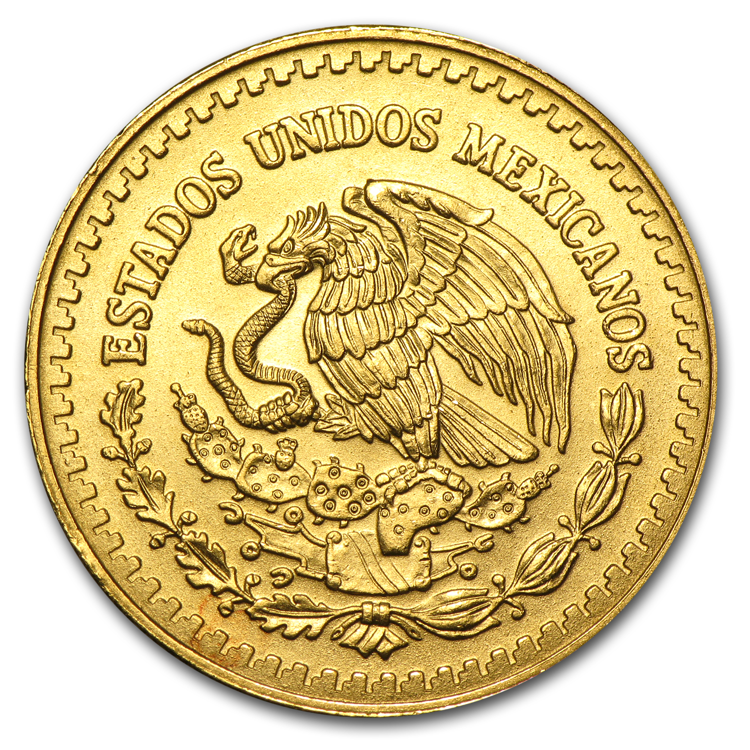 1992 1/2 oz Gold Mexican Libertad BU