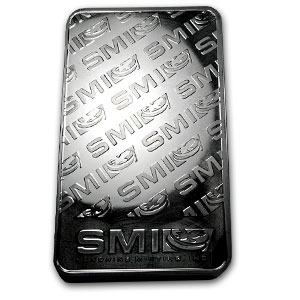 100 oz Silver Bars - Tiger (Proof-like)