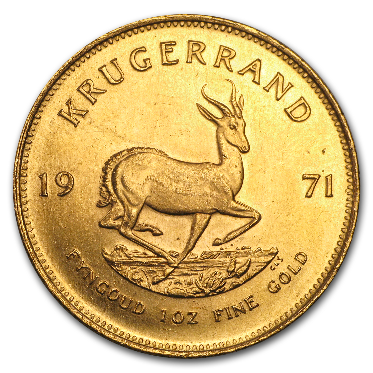 1971 South Africa 1 oz Gold Krugerrand