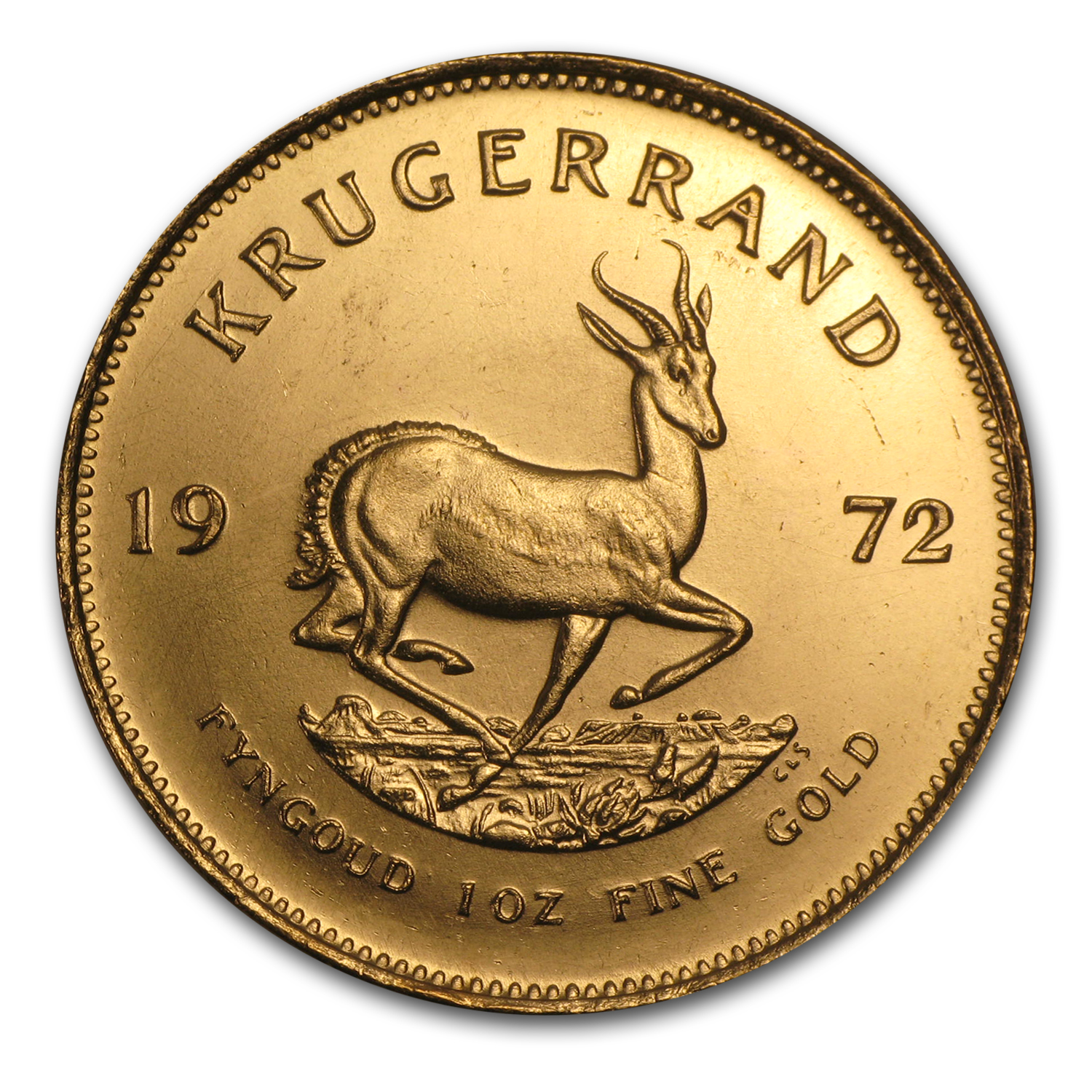 1972 1 oz Gold South African Krugerrand
