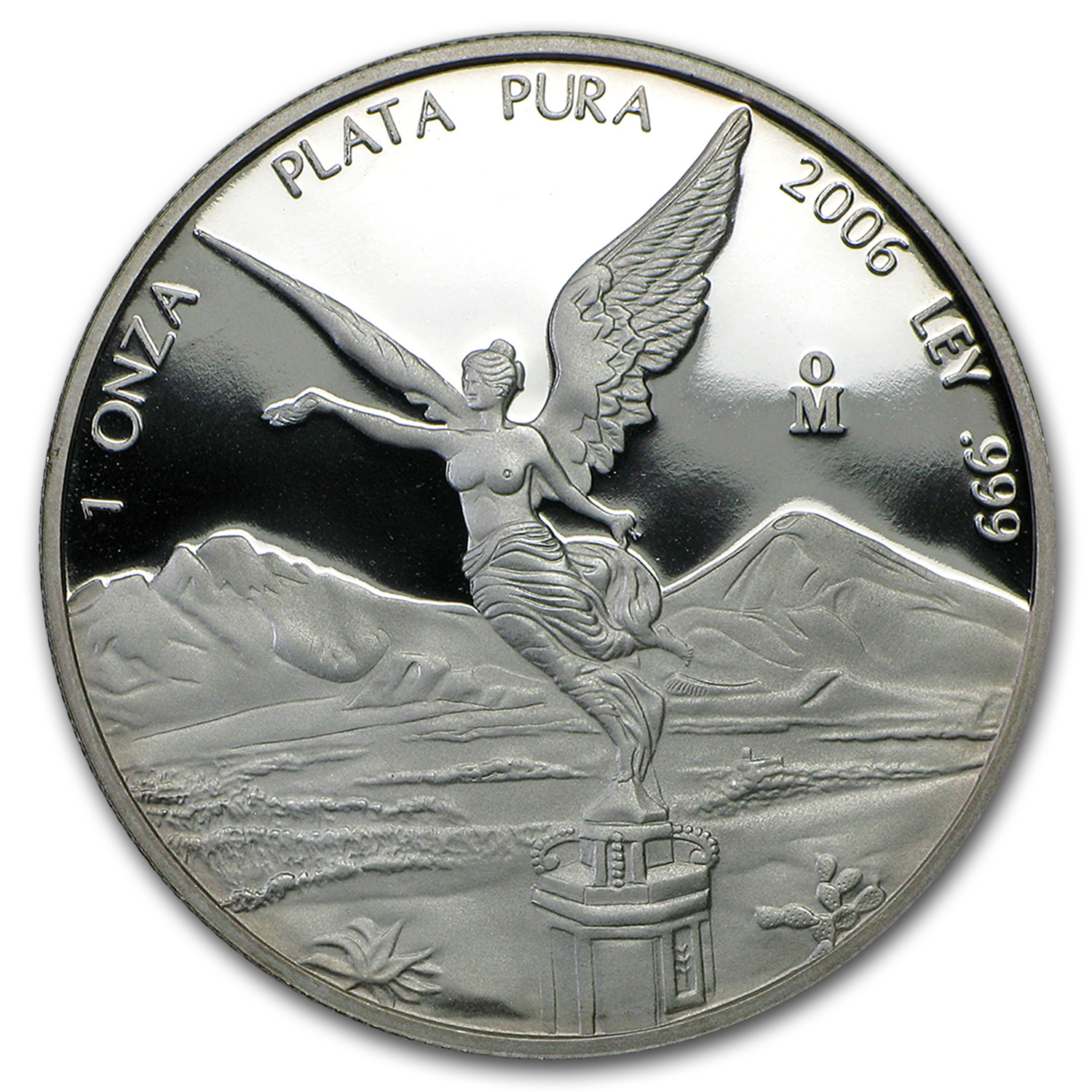 2006 Mexico 1 oz Silver Libertad Proof (In Capsule)