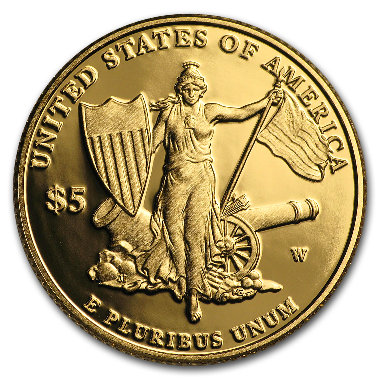 2011-W $5 Gold Commemorative Medal of Honor Proof