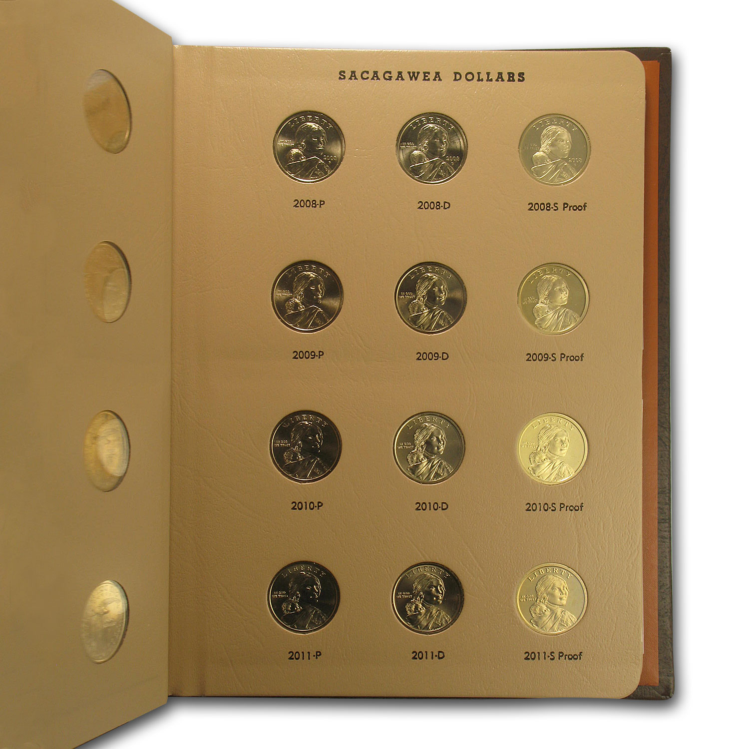 2000-2015 48-Coin Sacagawea Dollar Set BU/Proof (Dansco Album)