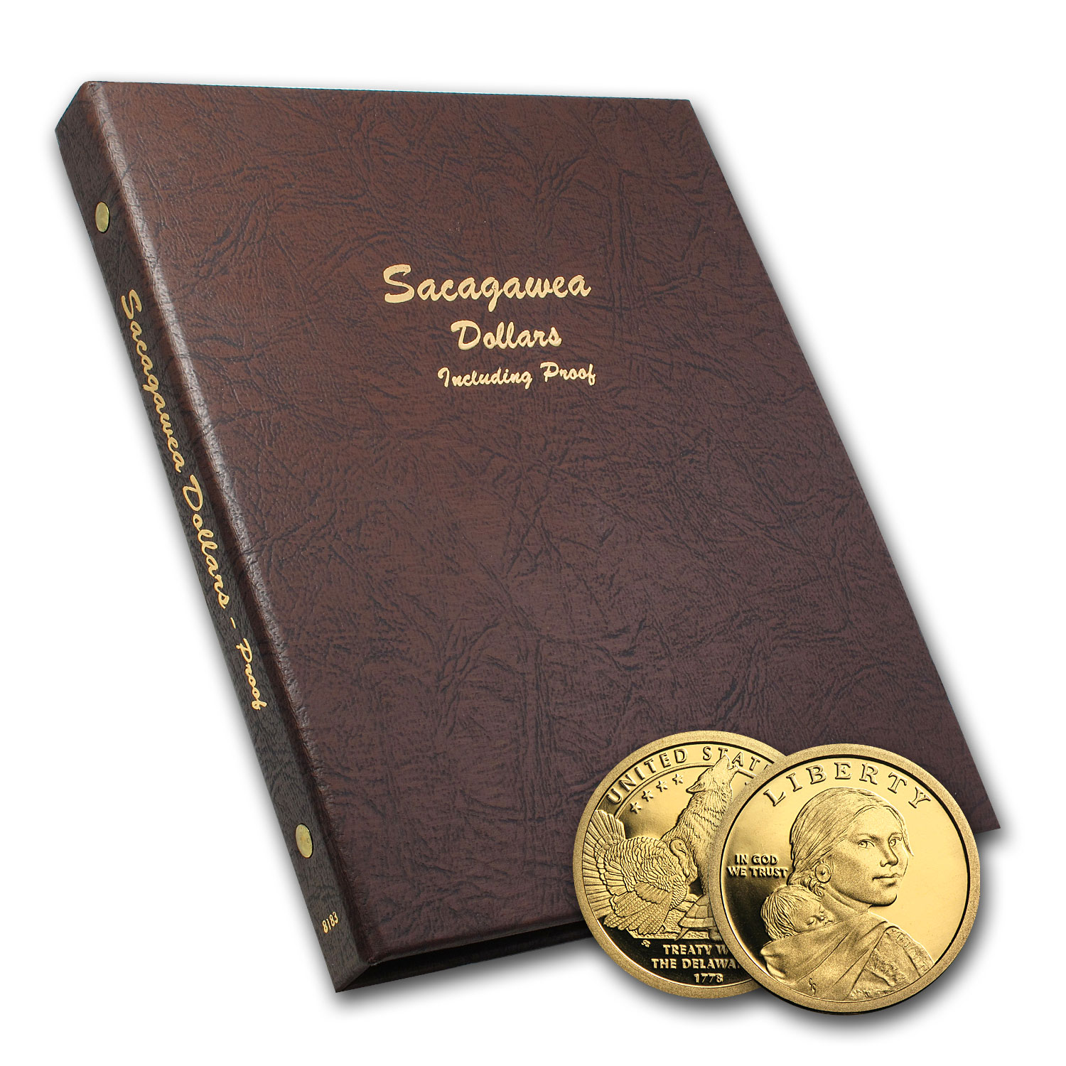 2000-2013 42-Coin Sacagawea Dollar Set BU/Proof (Dansco Album)