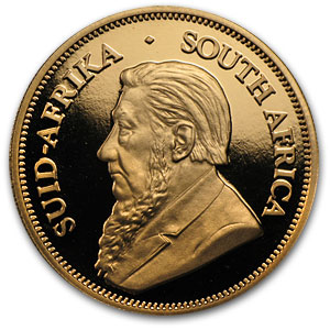 2002 4-Coin Gold South African Krugerrand Proof Set