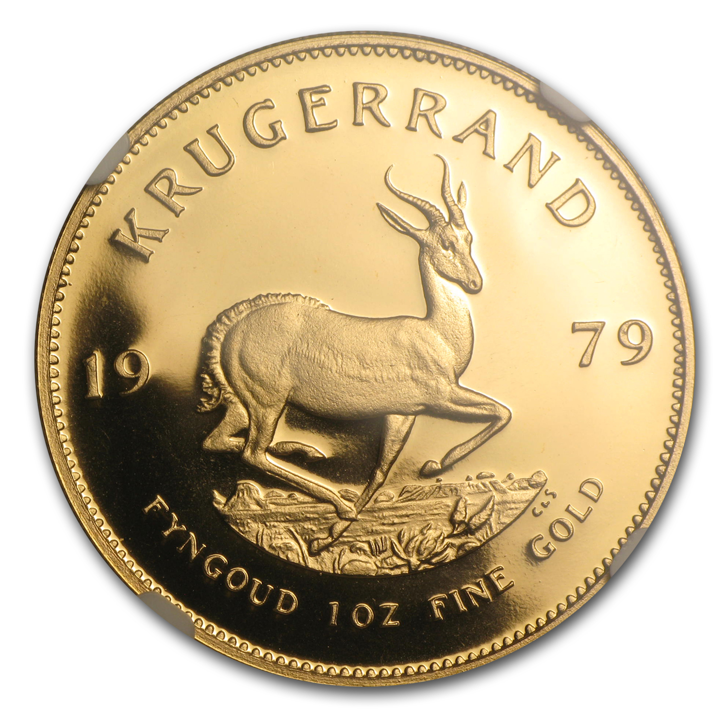 1979 1 oz Gold South African Krugerrand PF-68 NGC