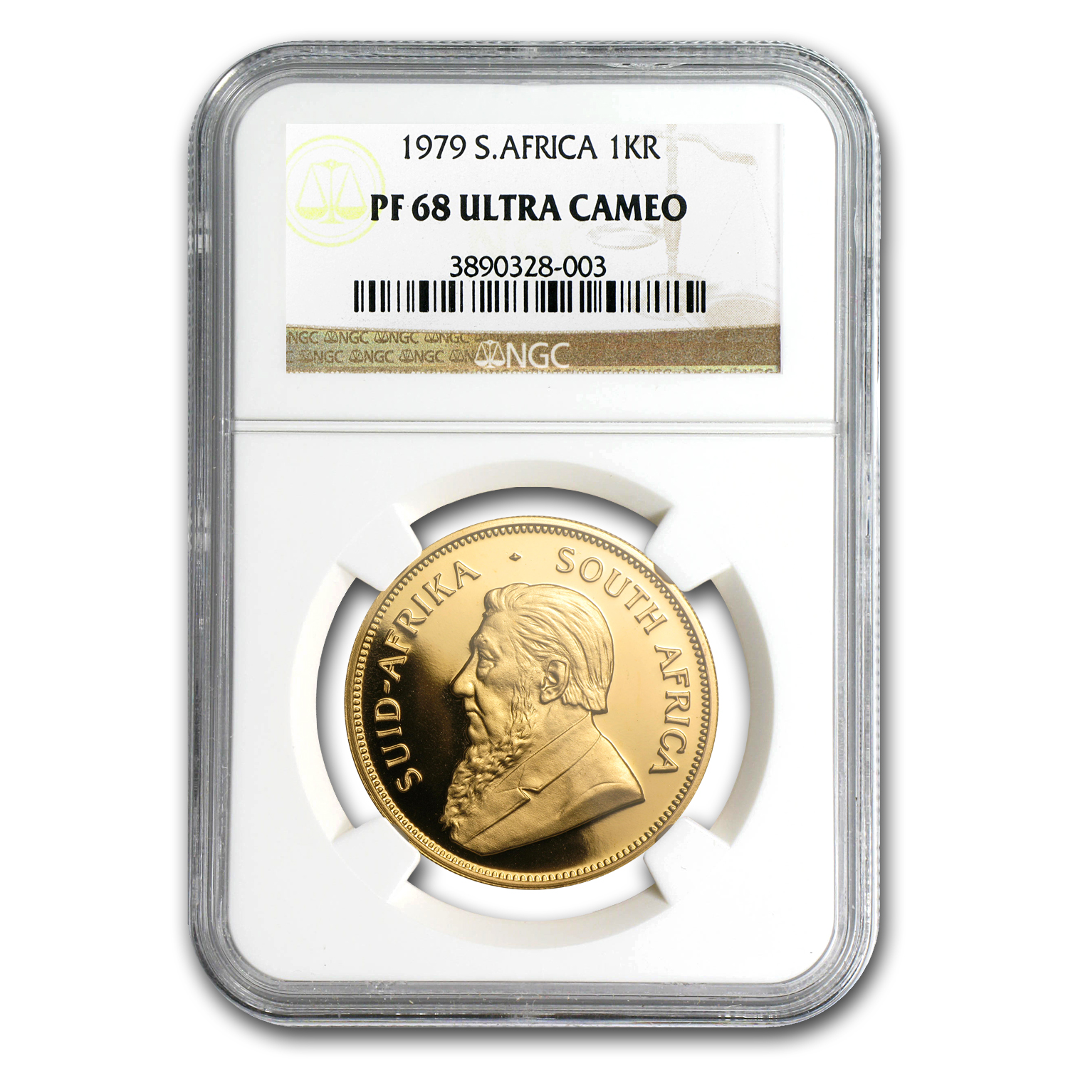 1979 South Africa 1 oz Gold Krugerrand PF-68 NGC