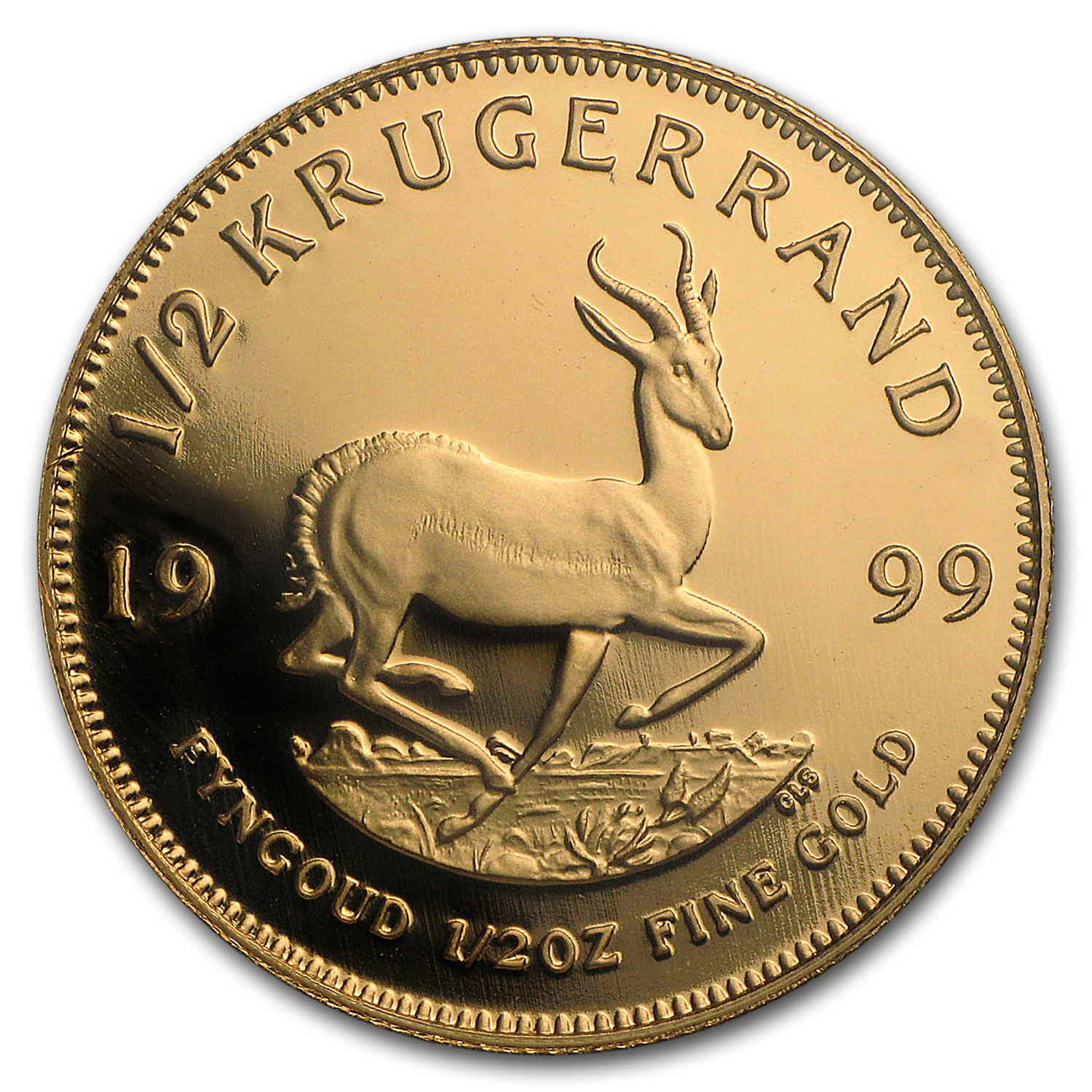 1999 South Africa 4-Coin Gold Krugerrand Proof Set