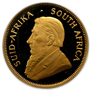 2003 South Africa 1/4 oz Proof Gold Krugerrand