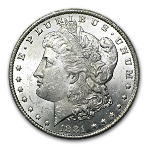 1881-CC Morgan Dollar (Brilliant Uncirculated) 20 Count Roll