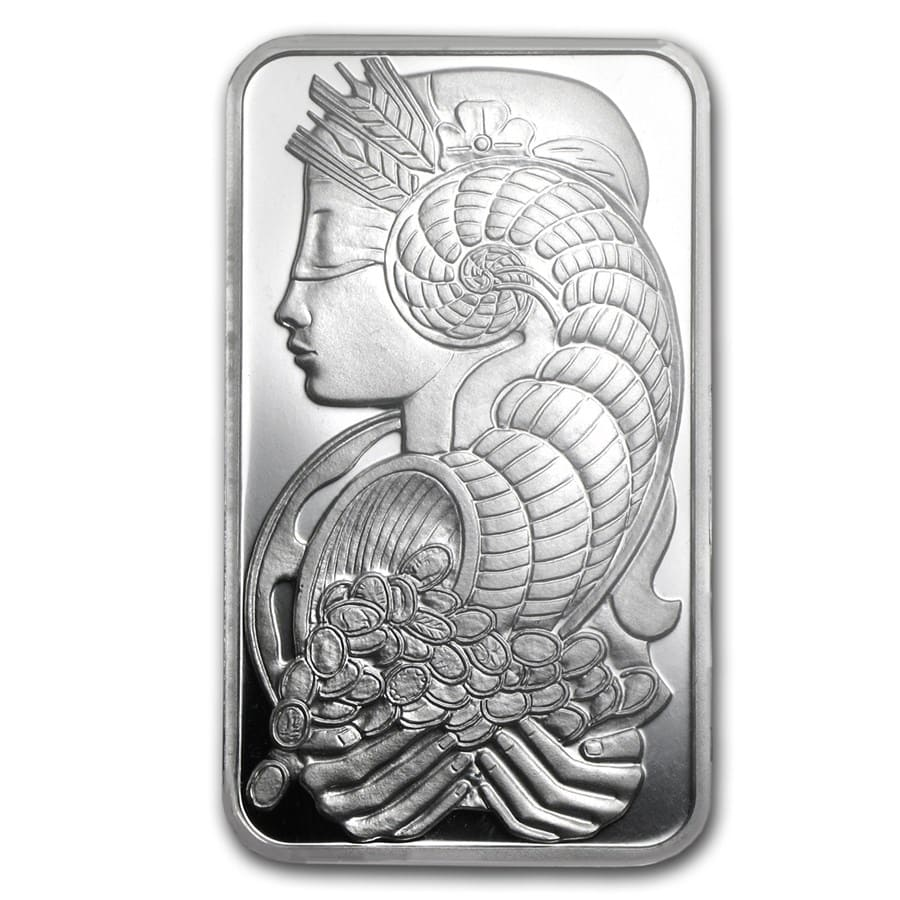 2.5 gram Silver Bar - PAMP Suisse (Fortuna, In Assay)
