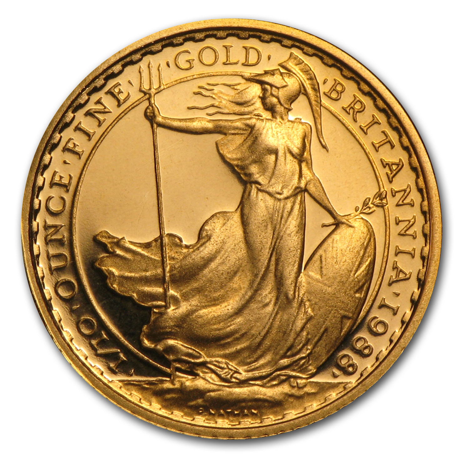 1988 1/10 oz Proof Gold Britannia