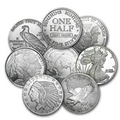 1/2 oz Silver Round – Secondary Market