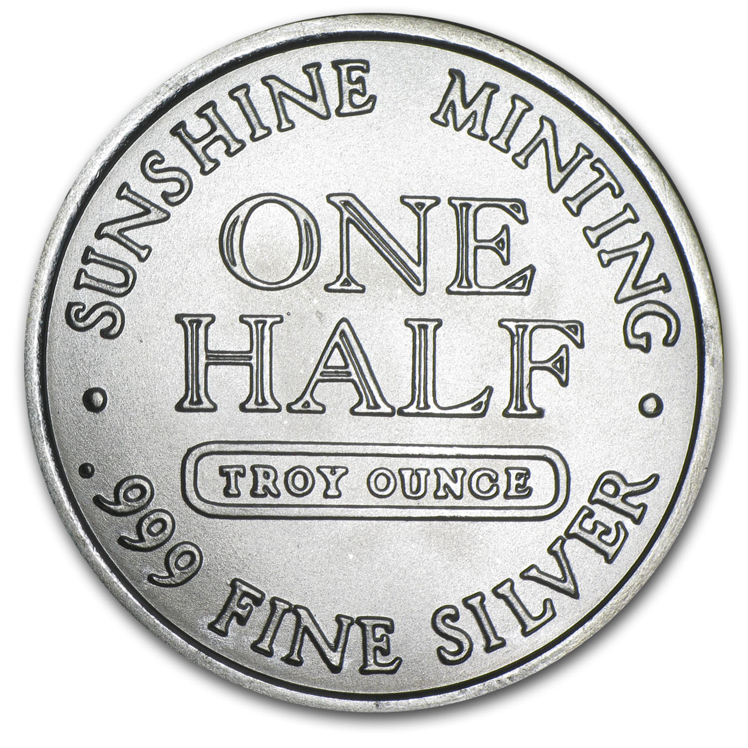 1/2 oz Silver Round (Secondary Market)