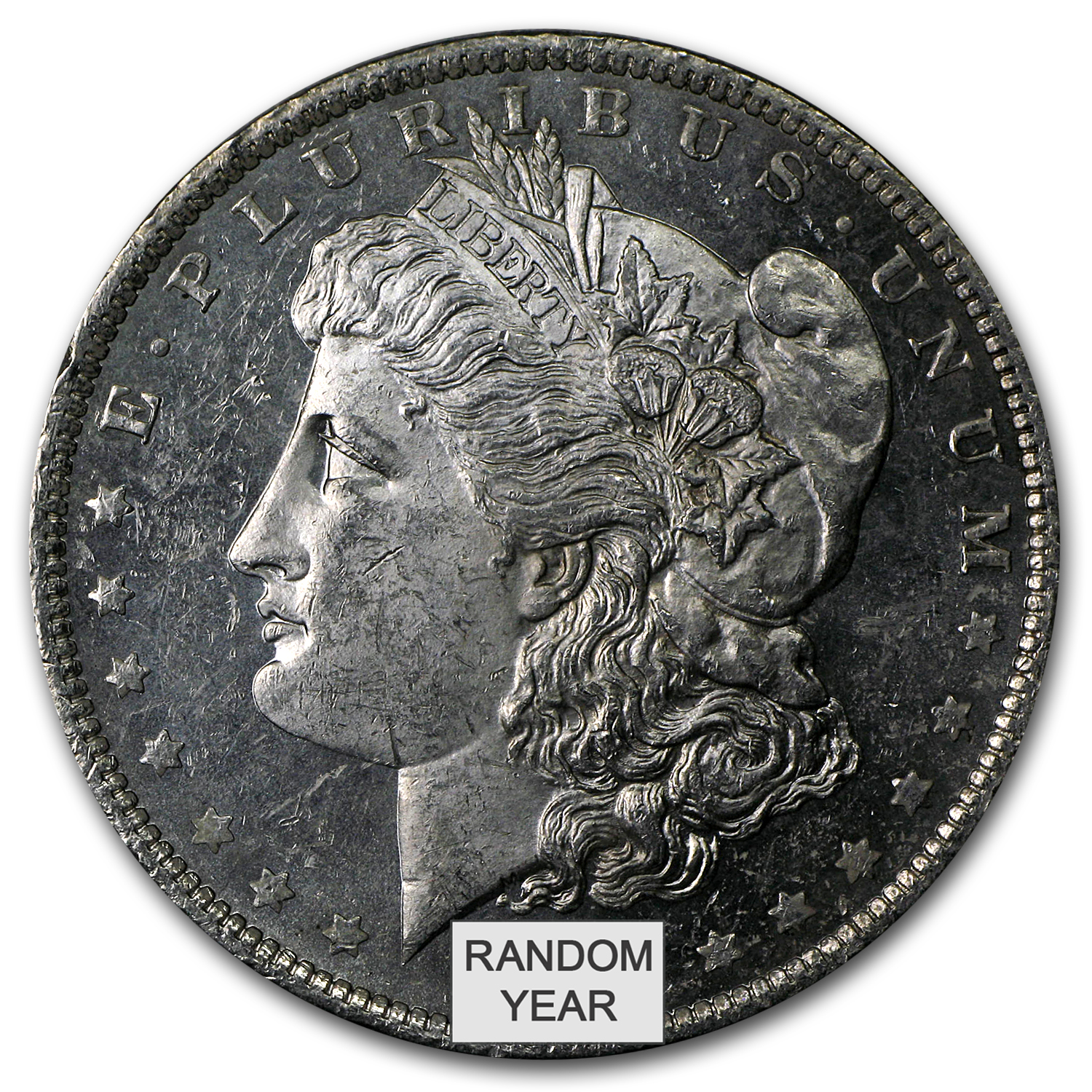 1878-1904 Morgan Silver Dollars BU (Prooflike)