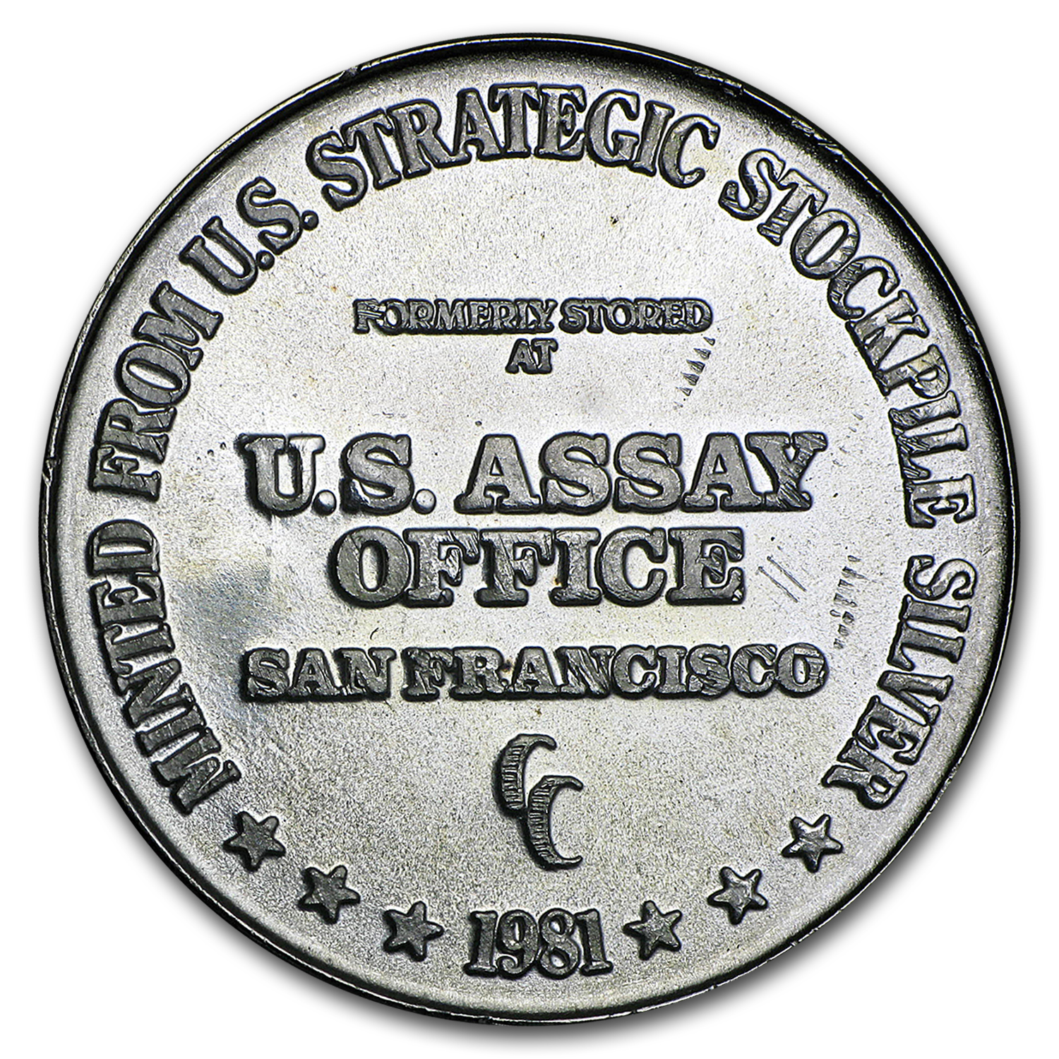 1 oz Silver Round - U.S. Assay Office