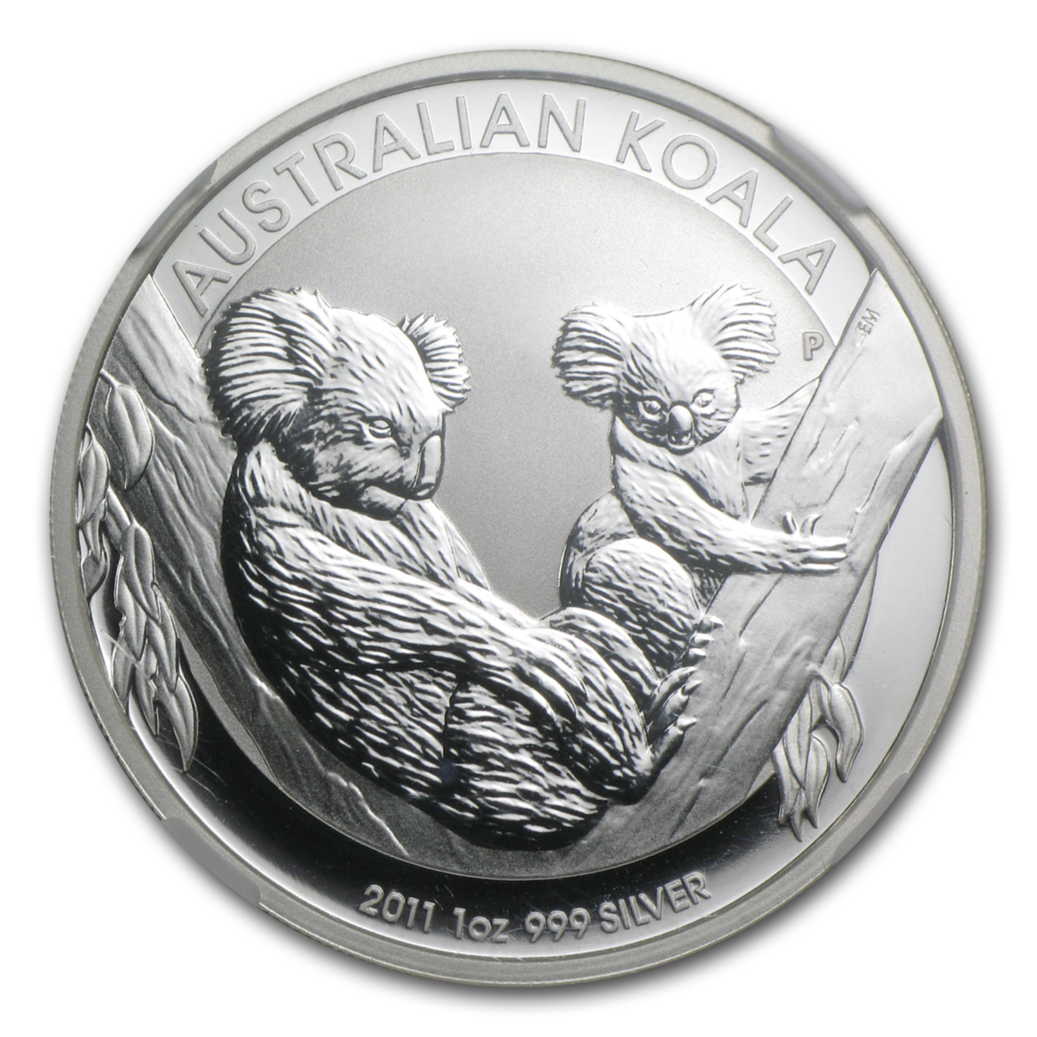 2011-P Australia 1 oz Silver Koala MS-69 NGC (First of 20,000)
