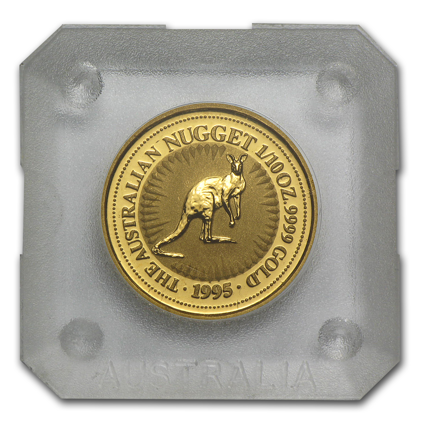 1995 1/10 oz Australian Gold Nugget
