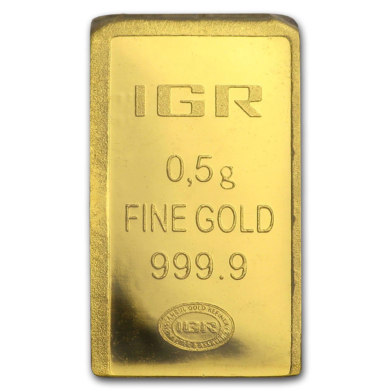 1/2 gram Gold Bar - Istanbul Gold Refinery (In Assay)