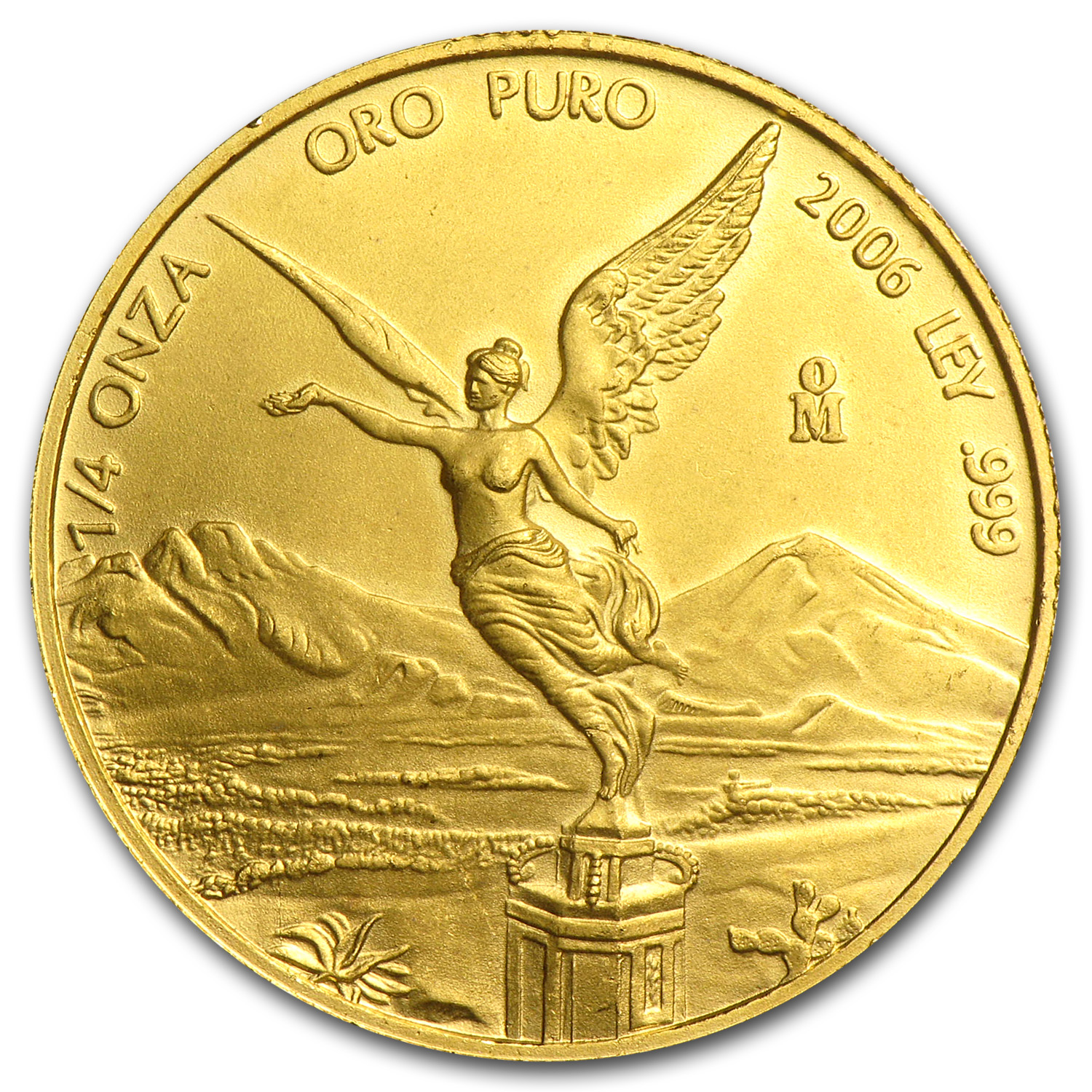 2006 Mexico 1/4 oz Gold Libertad BU