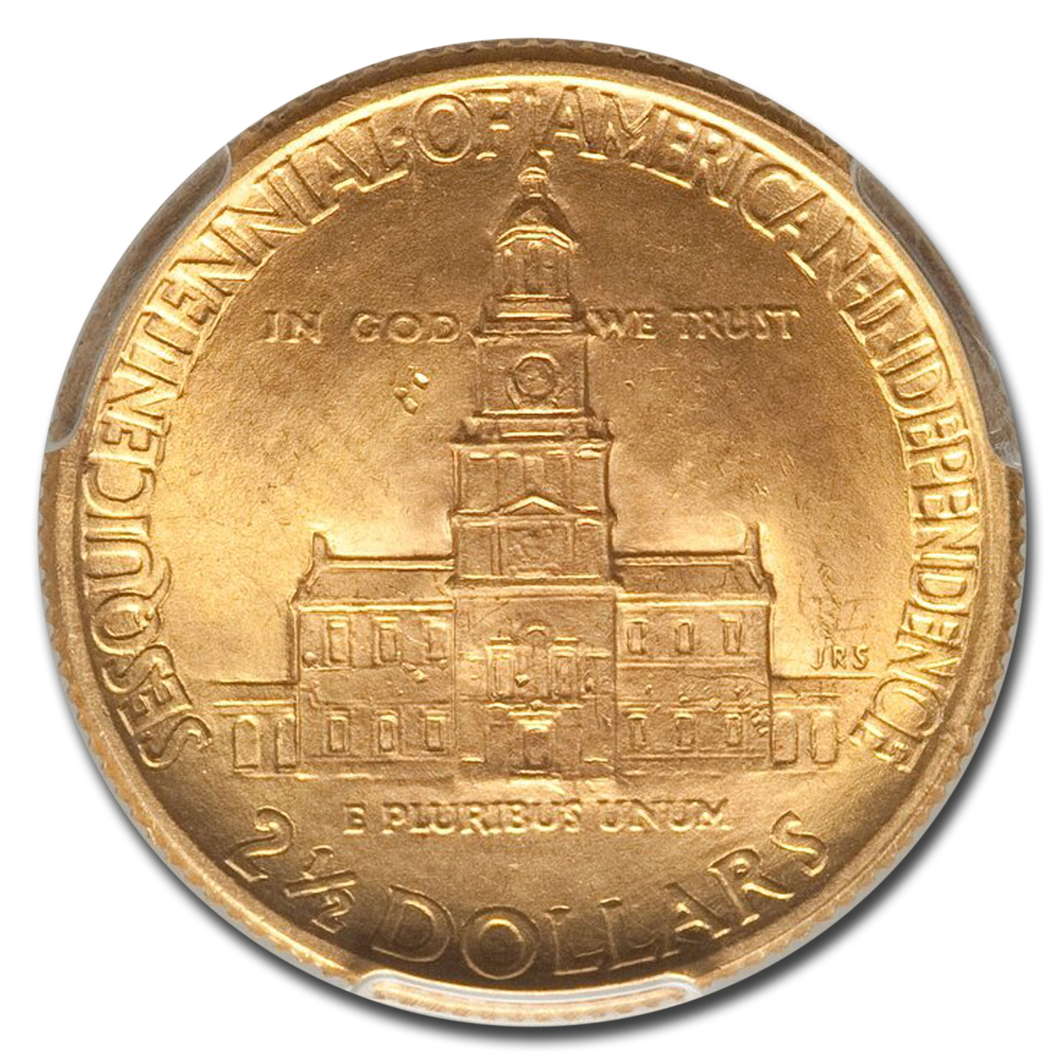 1926 $2.50 Gold America Sesquicentennial MS-65 PCGS