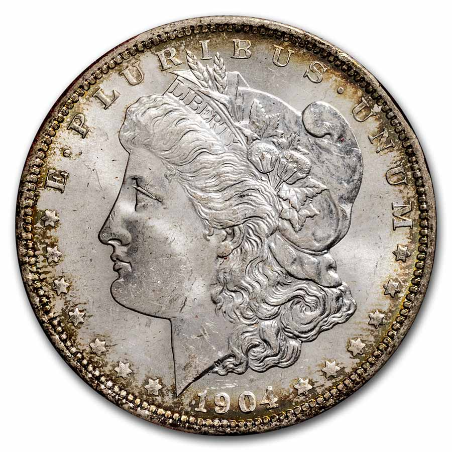 1904-O Morgan Dollar MS-65 (Paramount International Coin Co.)