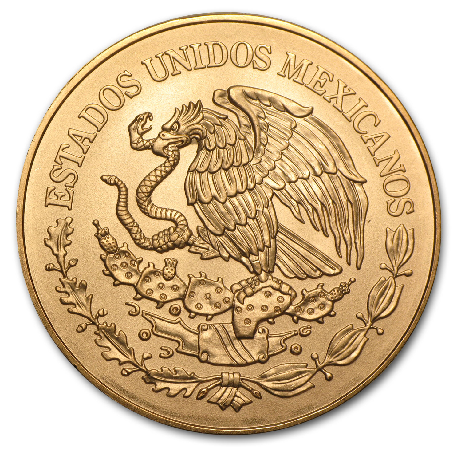 2010 Mexico Gold 200 Pesos Bicentenary Commem BU