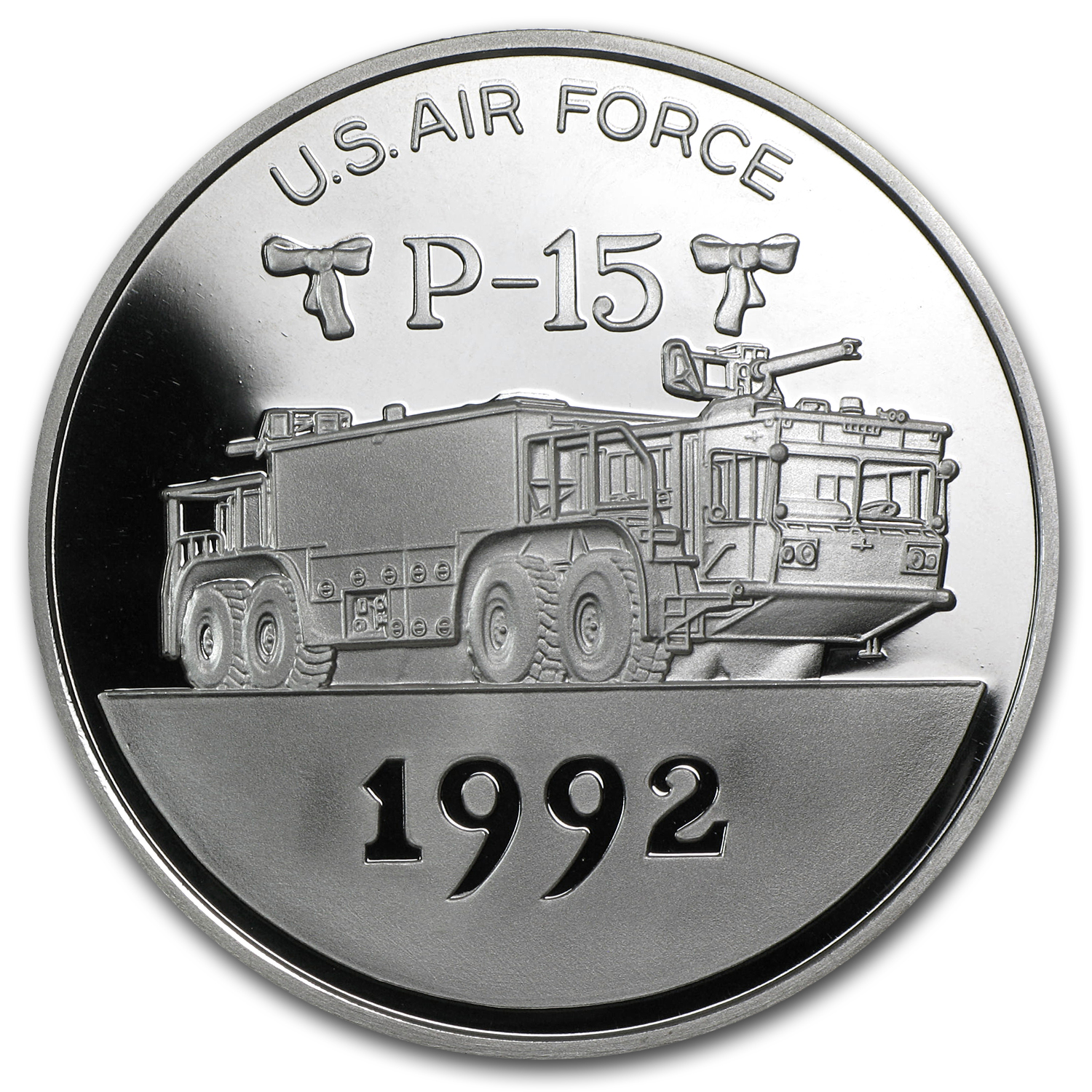 2 oz Silver Rounds - Joe's Fire-Truck Series