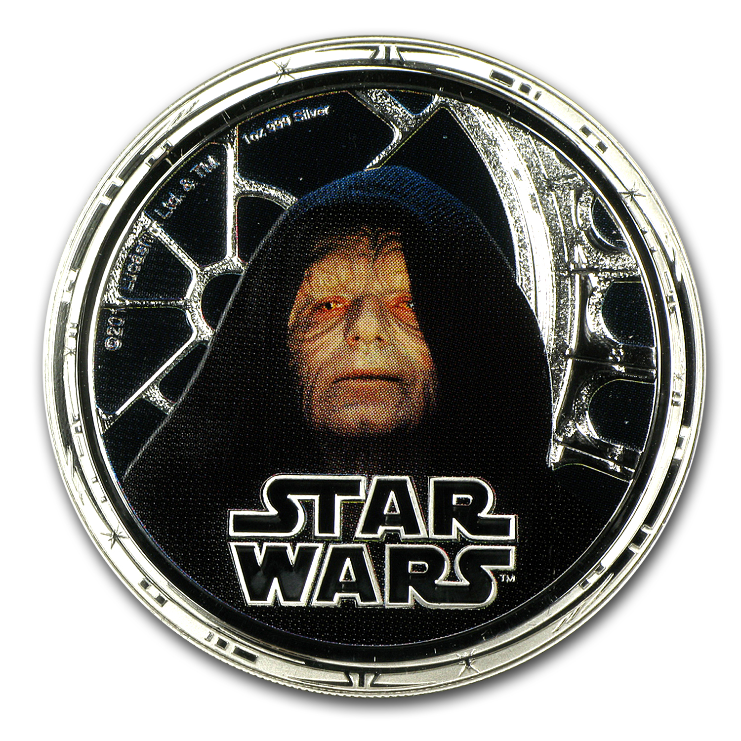 2011 Niue 4-Coin 1 oz Silver $2 Star Wars Proof Set (Dark Side)