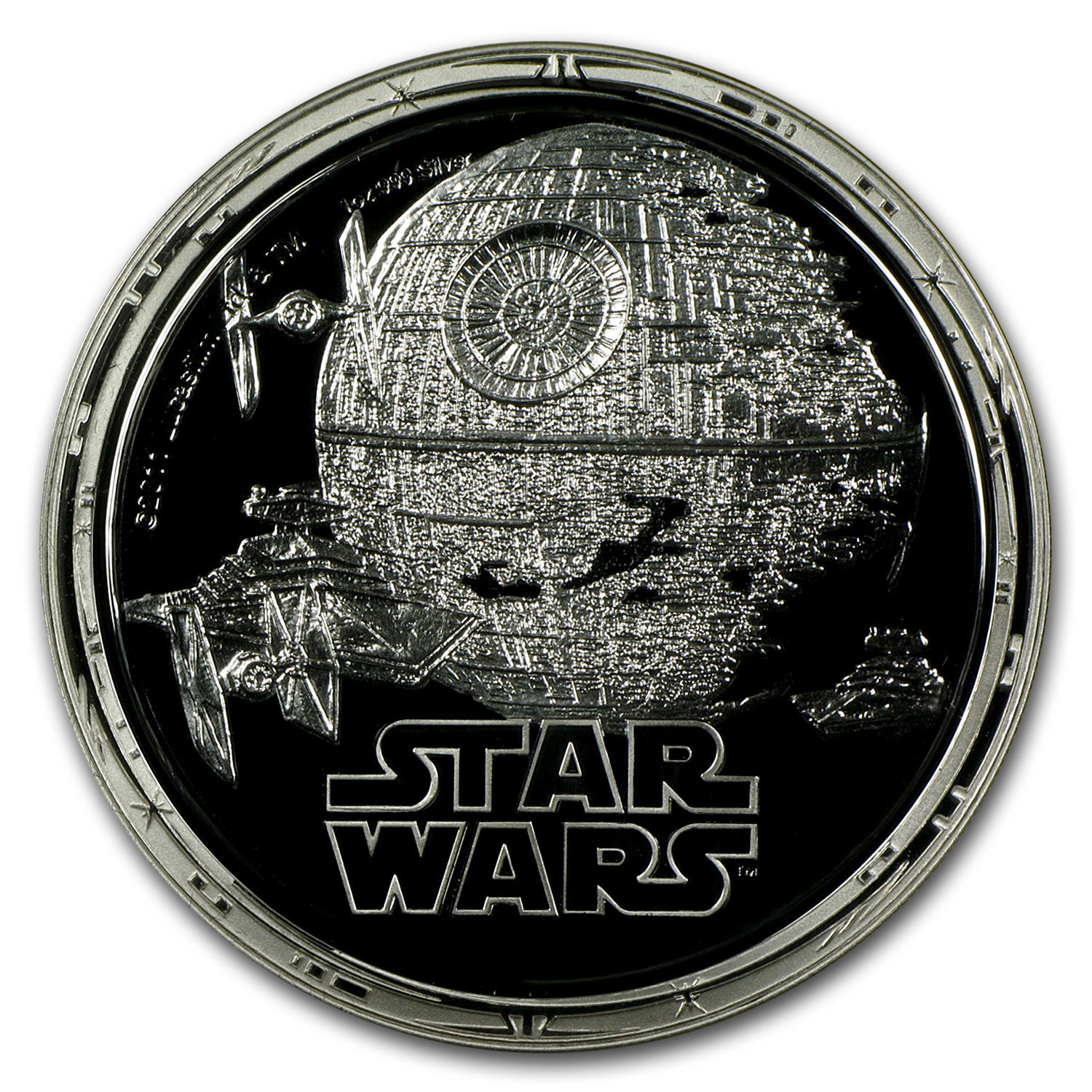 2011 Star Wars Proof Silver 4-Coin Set - Dark Side