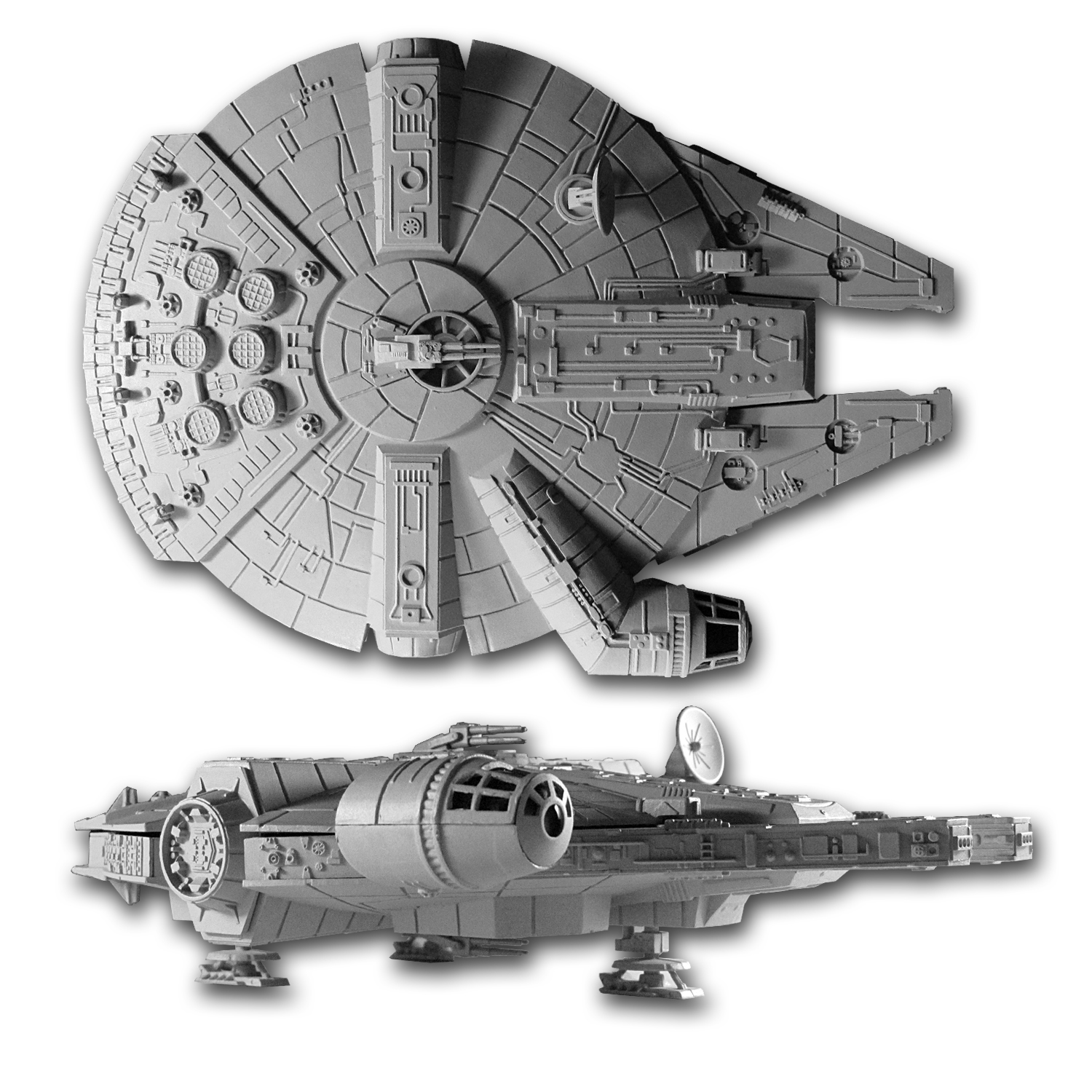 Star Wars - Millennium Falcon 4-Coin Set Box