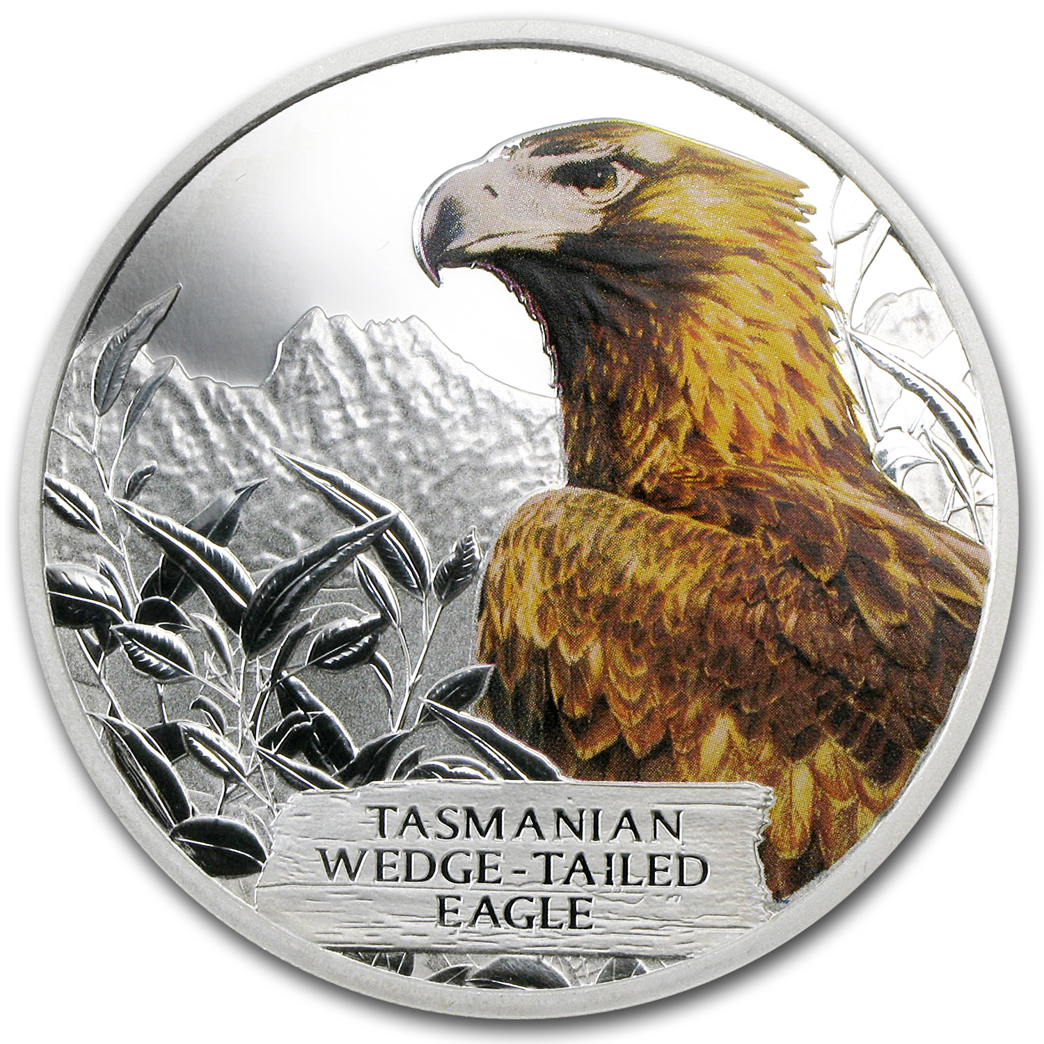 2012 1 oz Silver Tuvalu Wedge-Tailed Eagle Proof