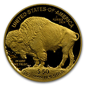 2008-W 1 oz Proof Gold Buffalo PR-70 PCGS (Black Diamond)