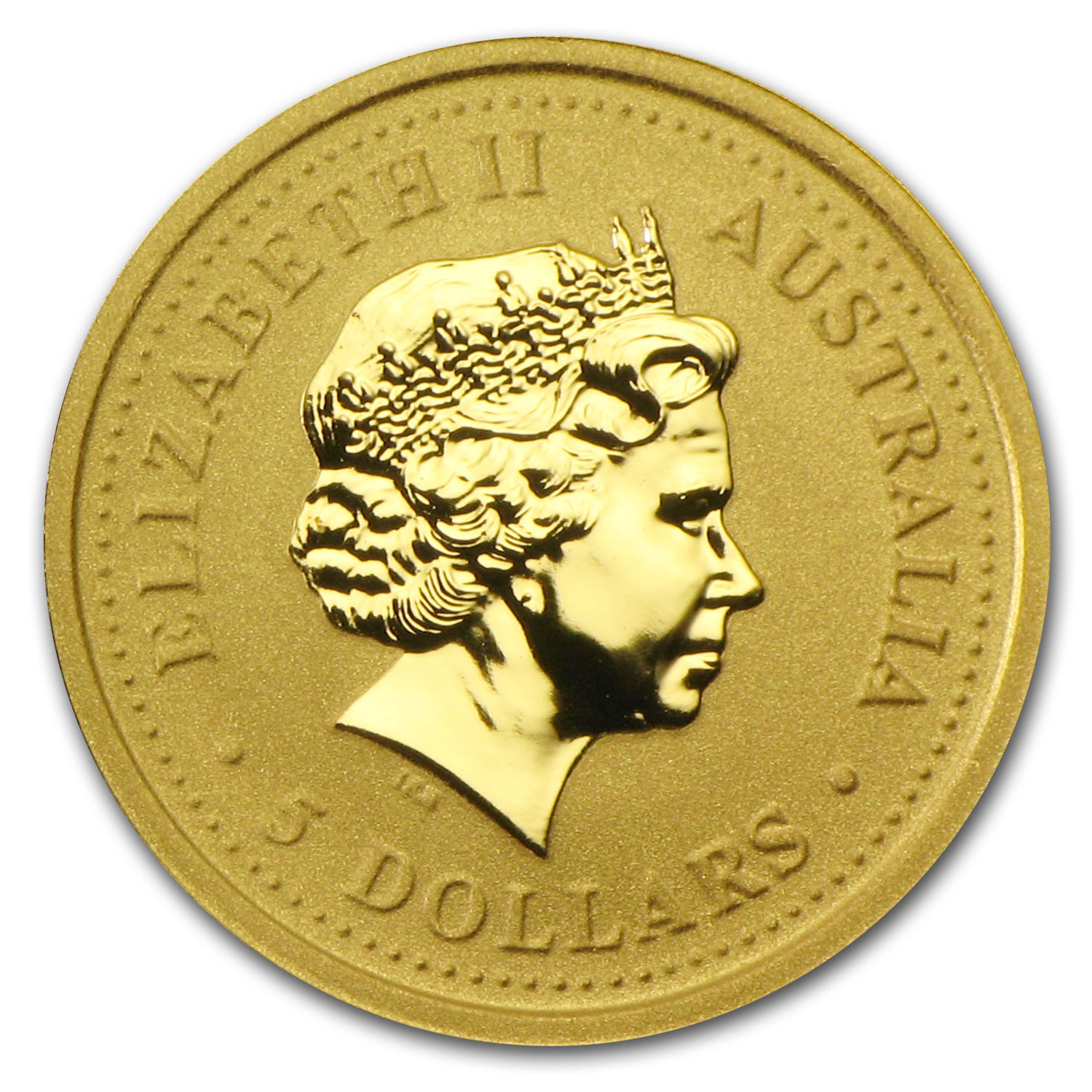 2002 1/20 oz Australian Gold Nugget