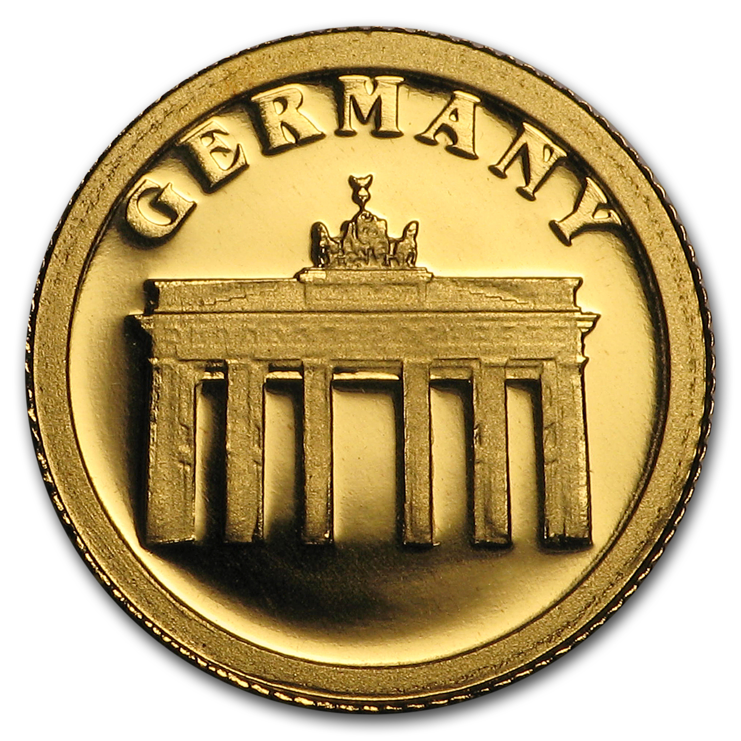Liberia 2008 $12 .999 Gold (Proof) European Collection