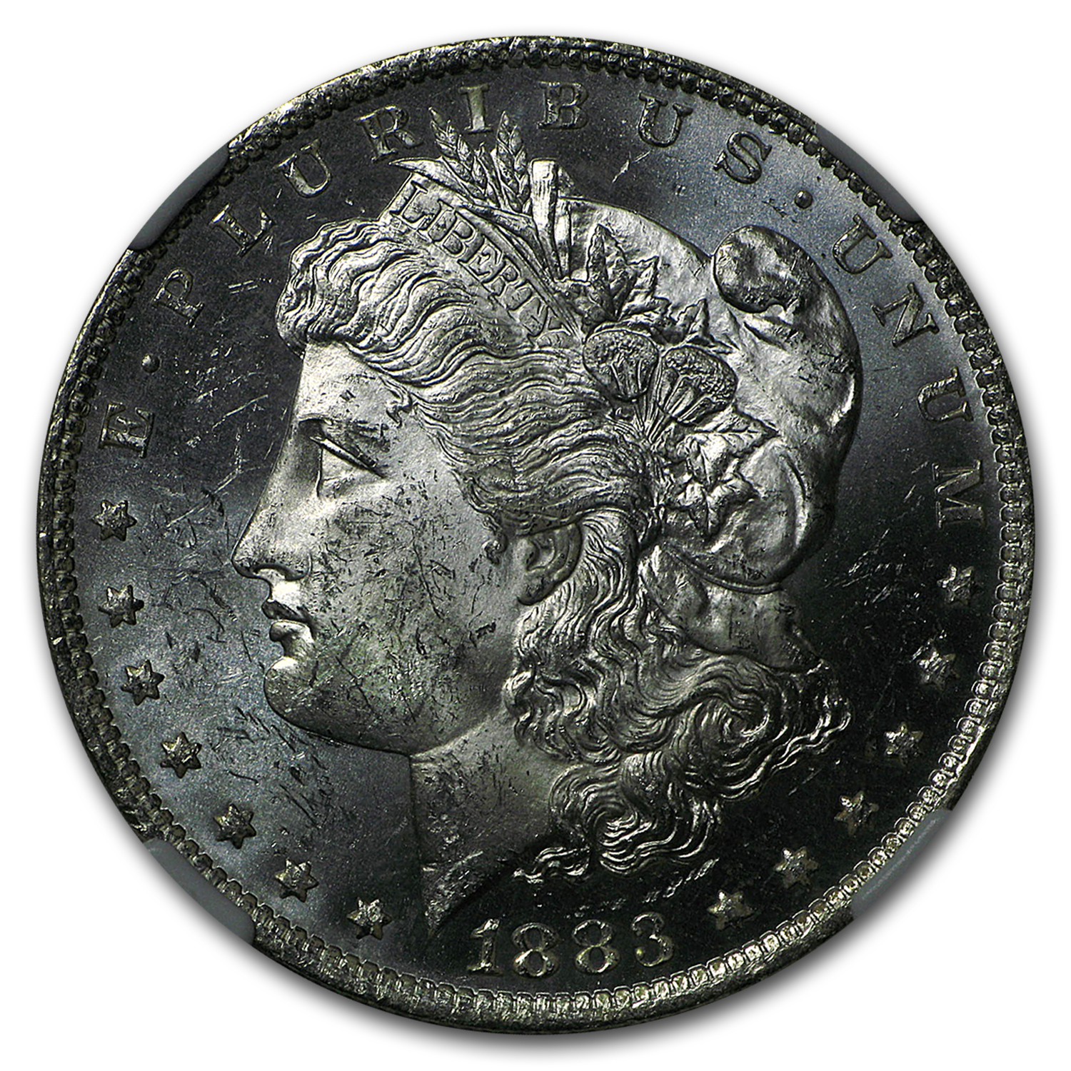 1883-O Morgan Dollar MS-63 PL NGC Proof Like