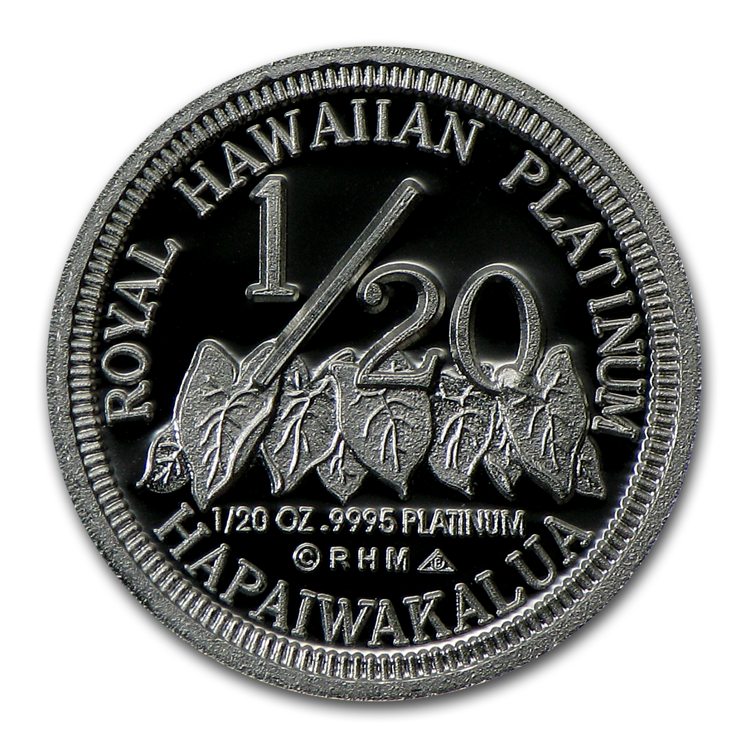1997 1/20 oz Hawaiian Platinum King (Proof)