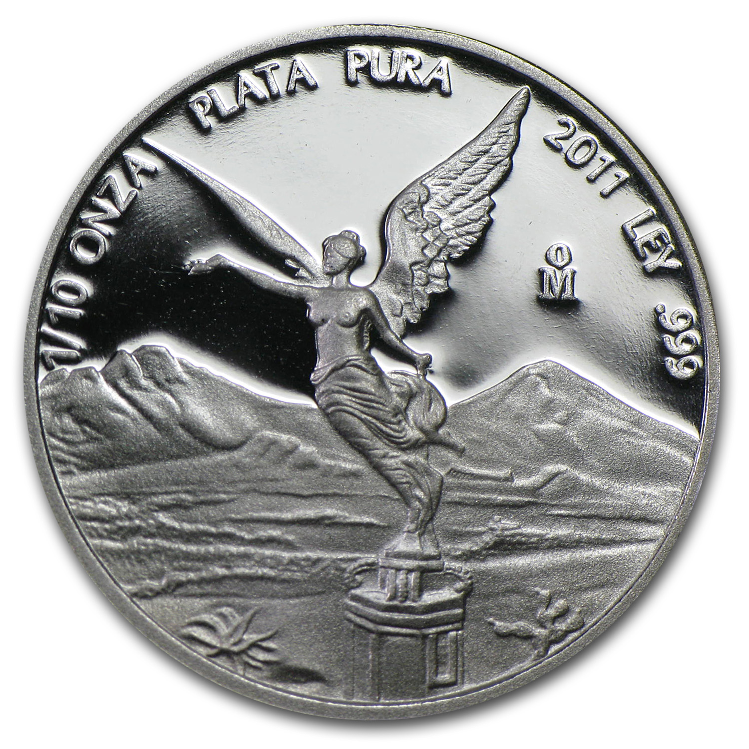 2011 1/10 oz Silver Mexican Libertad Proof (In Capsule)