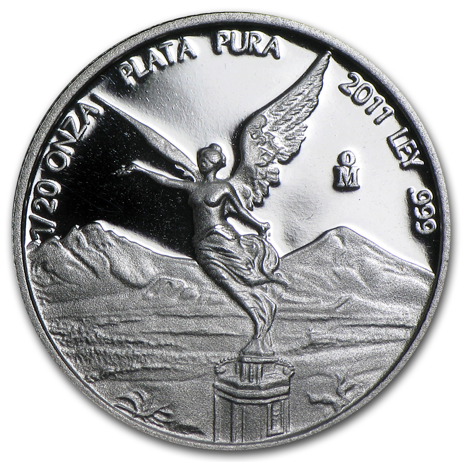 2011 Mexico 1/20 oz Silver Libertad Proof (In Capsule)
